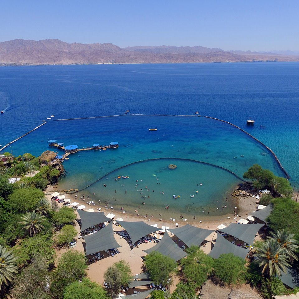 The stunning Dolphin Reef in Eilat