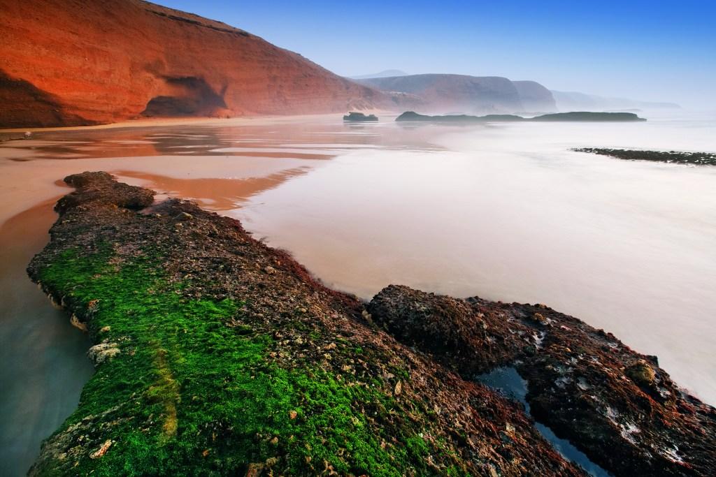 Марокканские пляжи больше похожи на марсианские
