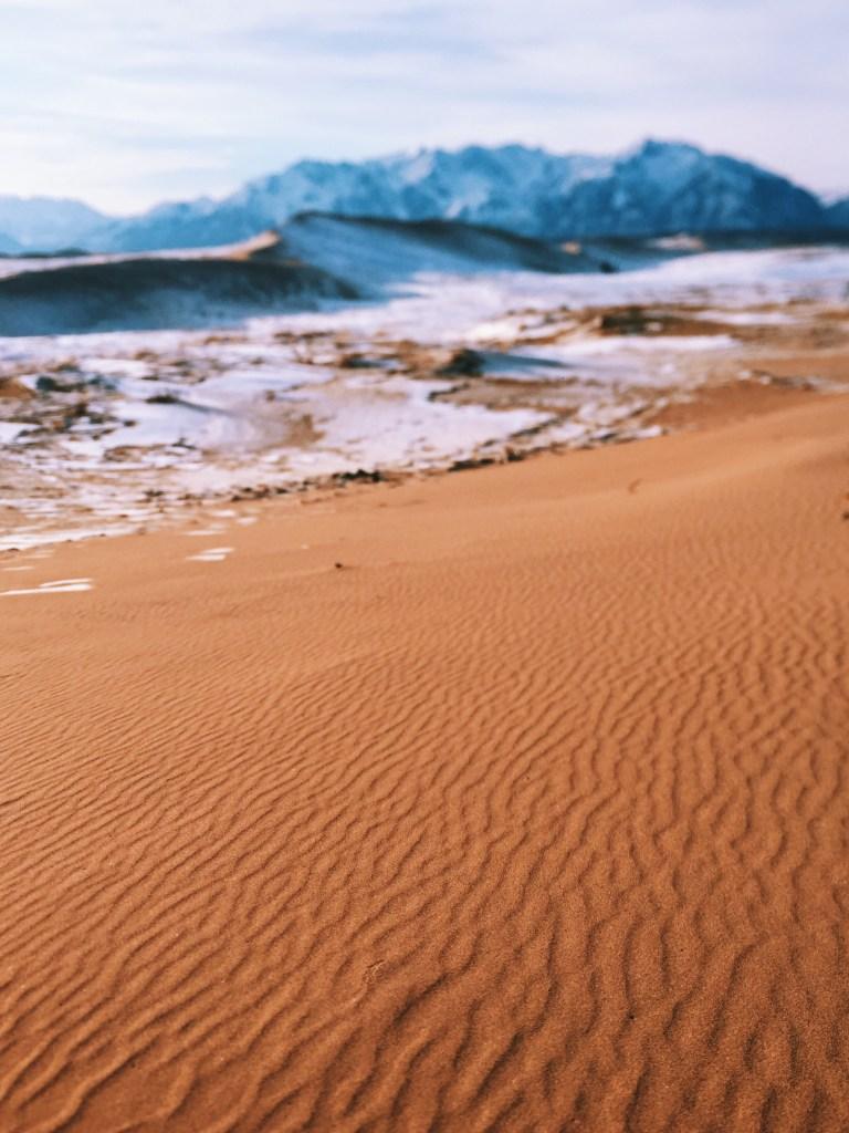 Чарские пески в России