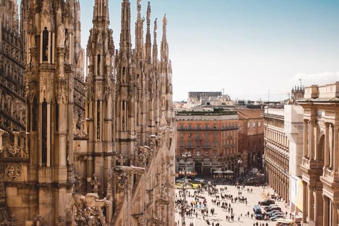 Summer in Europe - Singapore to Milan