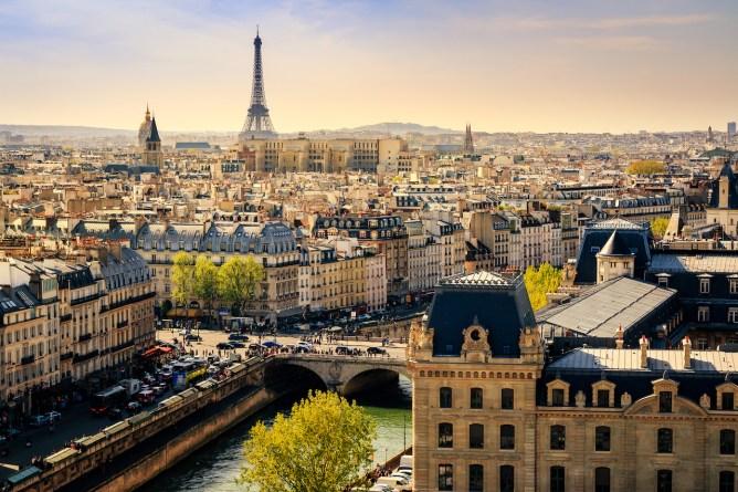 Summer in Europe - Singapore to Paris
