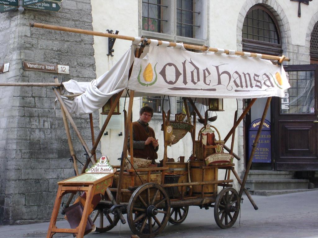 Restaurante Olde Hansa en Tallin, Estonia