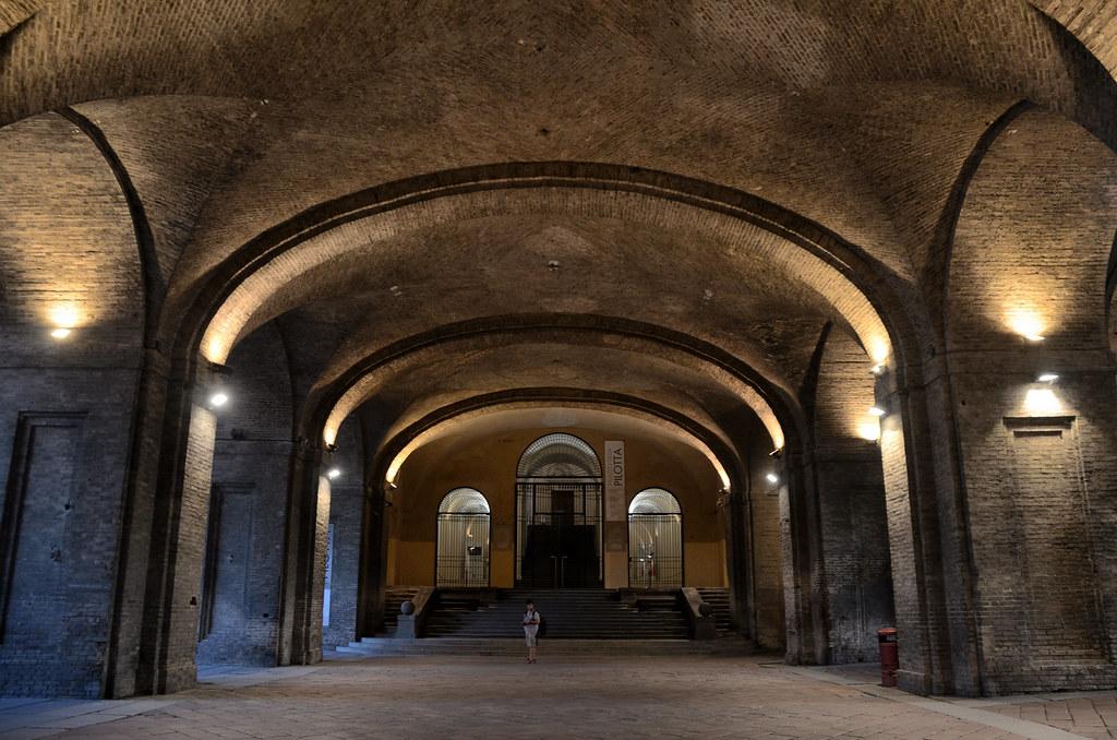 Palazzo della Pilotta en Parma, Italia
