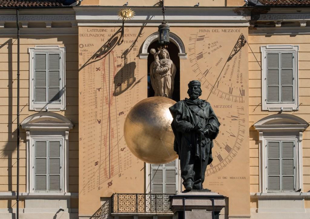Piazza Giusseppe Garibaldi en Parma, Italia