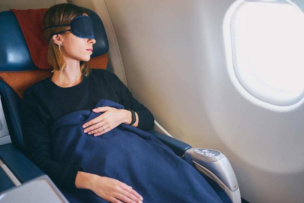 飛行機内 防寒対策