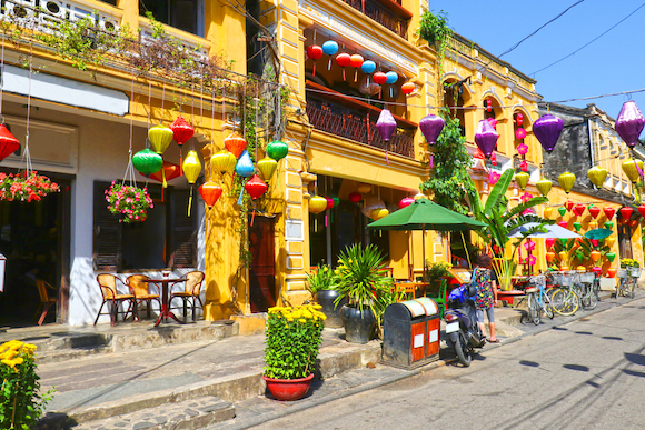 ベトナム 世界遺産のホイアン旧市街