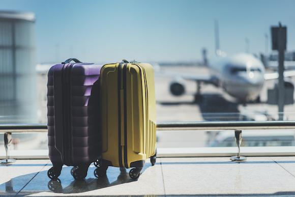 空港 スーツケース