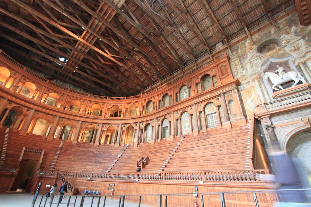 Teatro Farnese en Parma, Italia