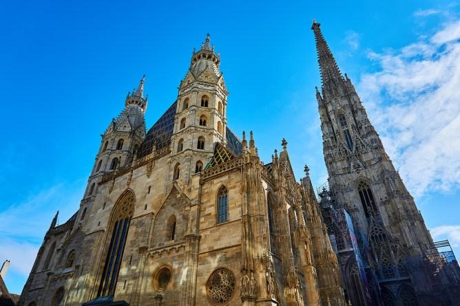 viyana gezilecek yerler katedral