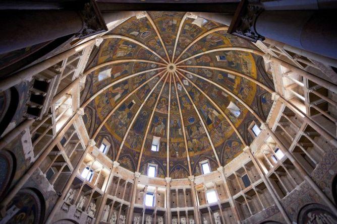 Cúpula del Duomo de Parma, Italia