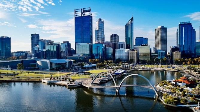 Perth skyline - Last minute flights to Western Australia
