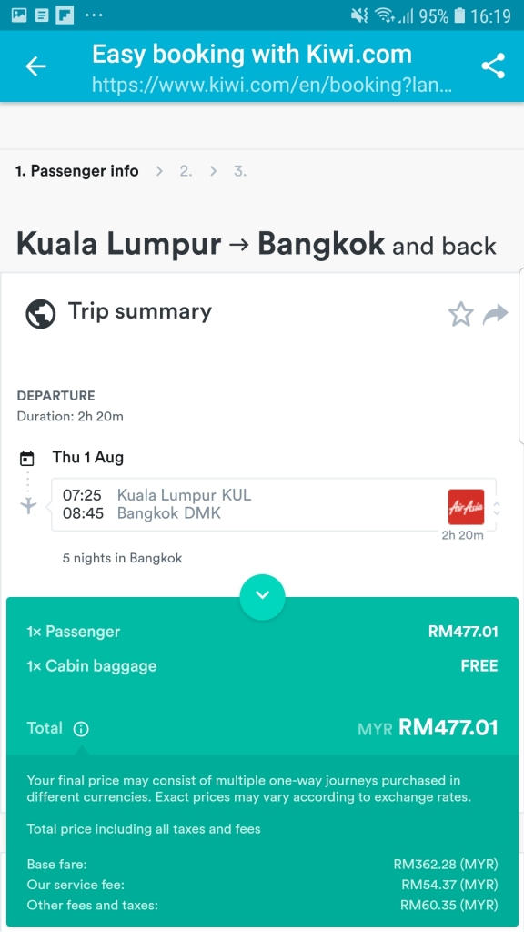 12 Things to know when making a booking through Skyscanner