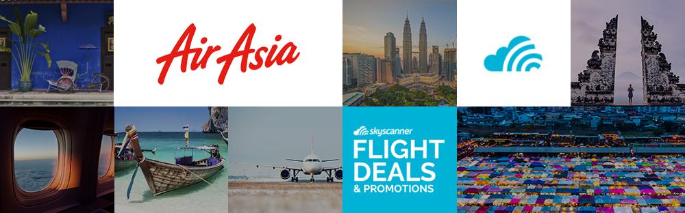 Flight Promotions & Cheap Flight Tickets for AirAsia | Skyscanner ...