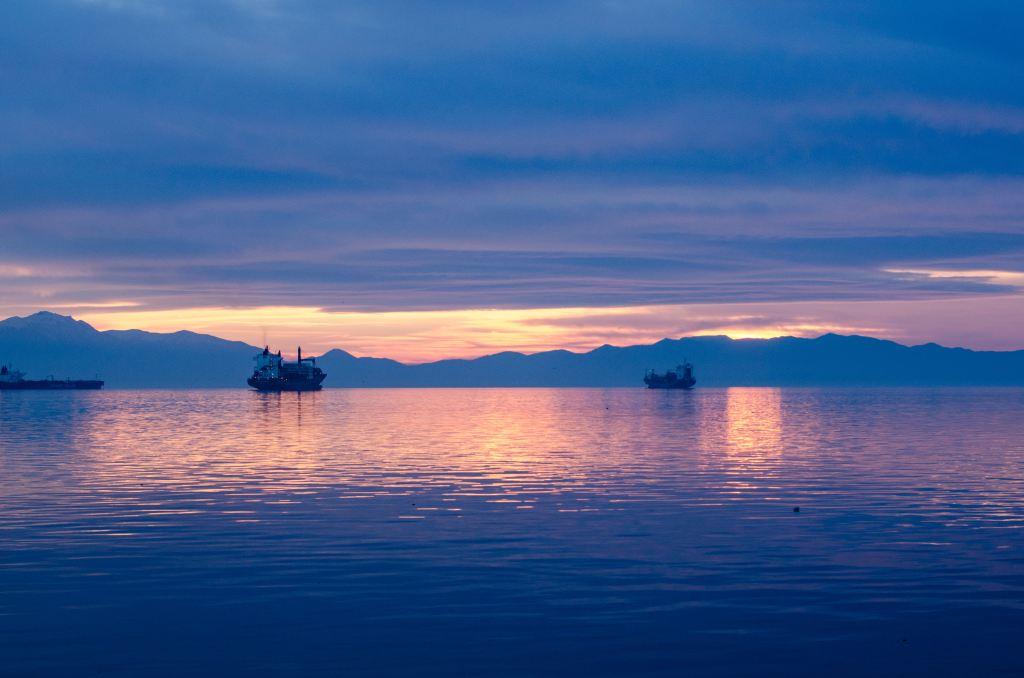 Пиратские шхуны для туристов, залив Термаикос, Салоники, Греция