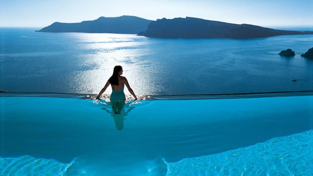 ペリボラス ホテル(ギリシャ サントリーニ島)