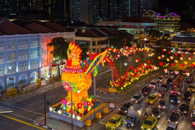 シンガポール 中秋節